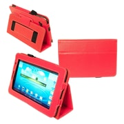 Kyasi™ Seattle Classic Carrying Case For 7 Galaxy Tab 2, Rad Red