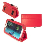 Kyasi™ Seattle Classic Carrying Case For 7 Galaxy Tab 3, Rad Red