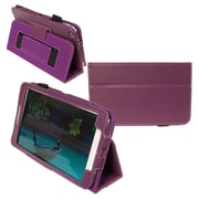Kyasi™ Seattle Classic Carrying Case For 8 Galaxy Tab 3, Deep Purple
