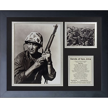 Legends Never Die John Wayne - Iwo Jima Framed Memorabili