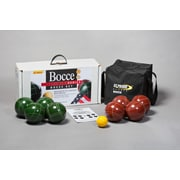 StPierreSports Tournament Bocce Game Set with Nylon Bag