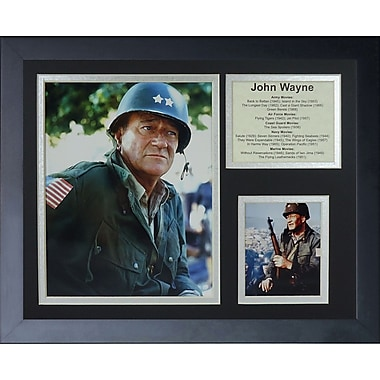 Legends Never Die John Wayne - War Movies Framed Memorabili