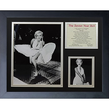 Legends Never Die Marilyn Monroe - Seven Year Itch Framed Memorabili