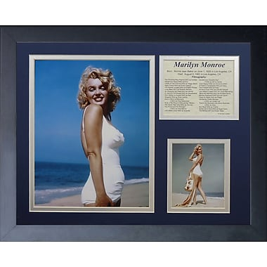Legends Never Die Marilyn Monroe - Beach Framed Memorabili