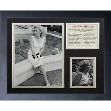 Legends Never Die Marilyn Monroe Fountain Framed Memorabili