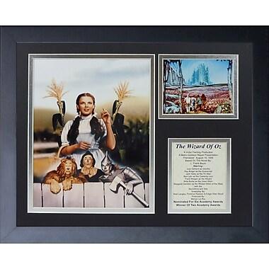 Legends Never Die Wizard of Oz - Fence Framed Memorabili