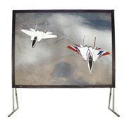 Buhl Fabric Manual Projection Screen; 81'' H x 108'' W