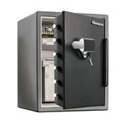 SentrySafe® (SFW105UPC) Water Resistant Dual Combination Fire Safe