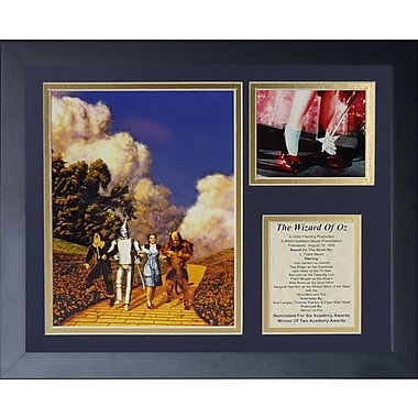 Legends Never Die Wizard of Oz - Yellow Brick Framed Memorabili
