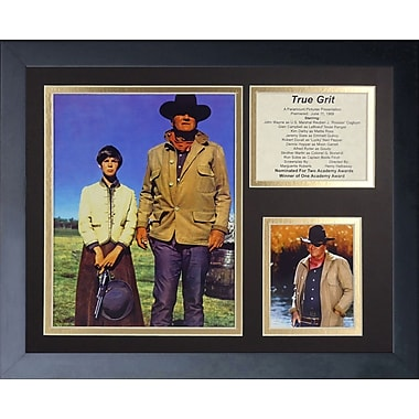 Legends Never Die John Wayne - True Grit Framed Memorabili