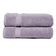 Pure Fiber Zero Twist Hand Towel (Set of 2); Purple