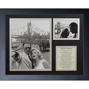 Legends Never Die Marilyn Monroe and Miller Framed Memorabili