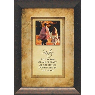 Artistic Reflections Sister. Side by Side or Miles Apart by Brett West Framed Graphic Art
