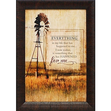 Artistic Reflections Everything in My Life by Jennifer Pugh Framed Graphic Art