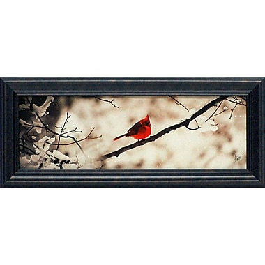 Artistic Reflections Cardinal III by Justin Spivey Framed Painting Print