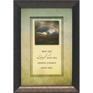 Artistic Reflections May the Lord Give His Angels by Brett West Framed Graphic Art