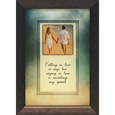 Artistic Reflections Falling in Love is Easy by Brett West Framed Graphic Art