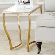 Safavieh Nancy Console Table; White/ Gold
