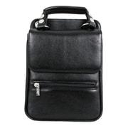 Dr. Koffer Fine Leather Accessories Lionel Flapover Document Shoulder Bag; Venetian Black