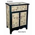 Cheungs Wooden 1 Drawer 2 Door Cabinet