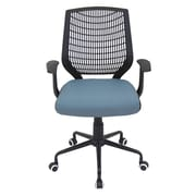 LumiSource Network Mid-Back Bungee Chair with Arm