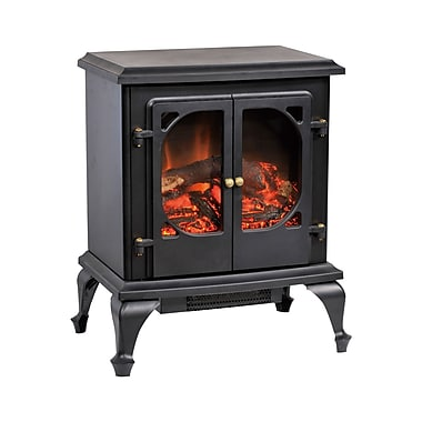 CorLiving FPE-300-F Free Standing Electric Fireplace