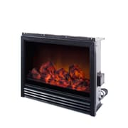 CorLiving™ 19 1/2 Electric Fireplace Insert, Black