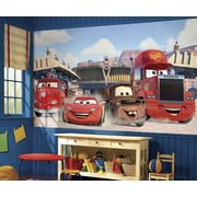 "RoomMates ""Disney Cars Friends to the Finish"" Prepasted XL Wallpaper Mural"