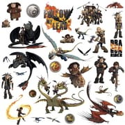 "RoomMates ""How to Train Your Dragon 2"" Peel and Stick Wall Decal"