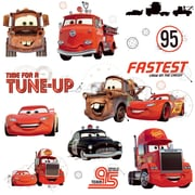 "RoomMates ""Cars - Friends to the Finish"" Peel and Stick Wall Decal"