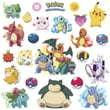 RoomMates in.Pokemon Iconicin. Peel and Stick Wall Decal