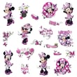 """RoomMates """"Mickey and Friends Minnie Fashionista"""" Peel and Stick Wall Decal"""