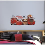 "RoomMates ""Cars 2 - Friends to the Finish"" Peel and Stick Giant Wall Decal"