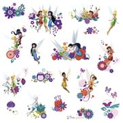 "RoomMates ""Disney Fairies - Best Fairy Friends"" Peel and Stick Wall Decal"
