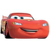 "RoomMates ""Cars Lightning McQueen Number 95"" Giant Wall Decal"