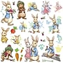 RoomMates Peter Rabbit Peel and Stick Wall Decal