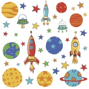 "RoomMates ""Planets and Rockets"" Wall Decal"
