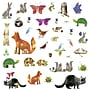 RoomMates Woodland Friends Peel and Stick Wall Decal