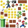 RoomMates Nintendo Super Mario Build a Scene Peel