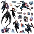 RoomMates in.Captain Americain. Peel and Stick Wall Decal