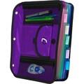 Case It ACC-21 5-TAB Expanding File, Purple