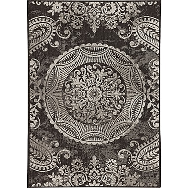 Balta Rugs 30413690.240305 8'x10' Indoor/Outdoor Rug, Black