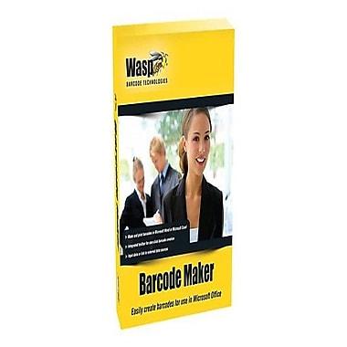 WaspMD – Logiciel Barcode Maker, 5 licences d'utilisation