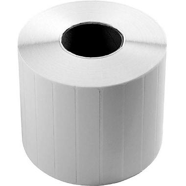 WaspMD – Rouleau de 1380 étiquettes d'inventaire vierges WPL305, 2 x 1 po (83722P)