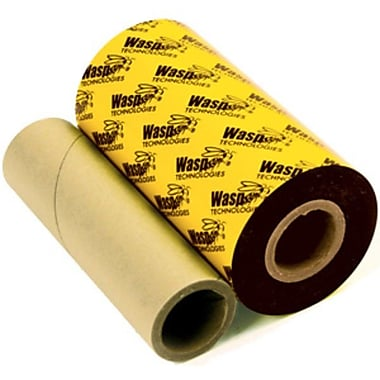 Wasp® eXtra WXR Resin Barcode Ribbon, 3-1/4