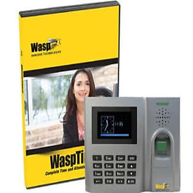 Wasp® WaspTime v7 Professional with Biometric Time Clock