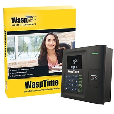 WaspMD – Logiciel WaspTime v7 Enterprise avec horodateur RFID