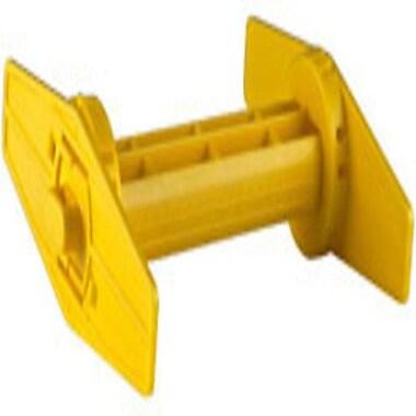 WaspMD – Broche pour rouleau d'étiquettes jaune pour imprimante WPL305
