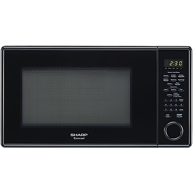 Sharp® Carousel 1.3 Cu. Ft. 1000 W Countertop Microwave Oven, Black