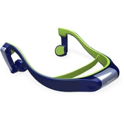 Panasonic® RP-BTGS10 Bluetooth Bone Conduction Water-Resistant Open-Ear Headphone, Blue/Lime Green